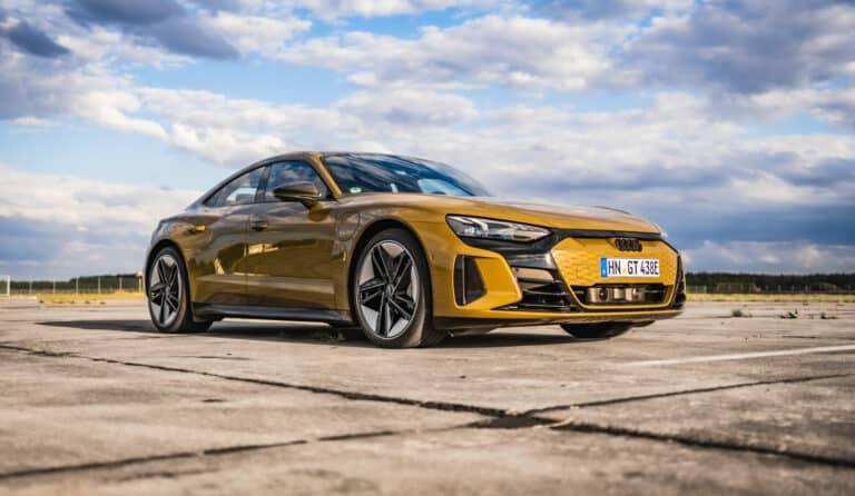 Zu sehen ist der Audi RS E-Tron GT