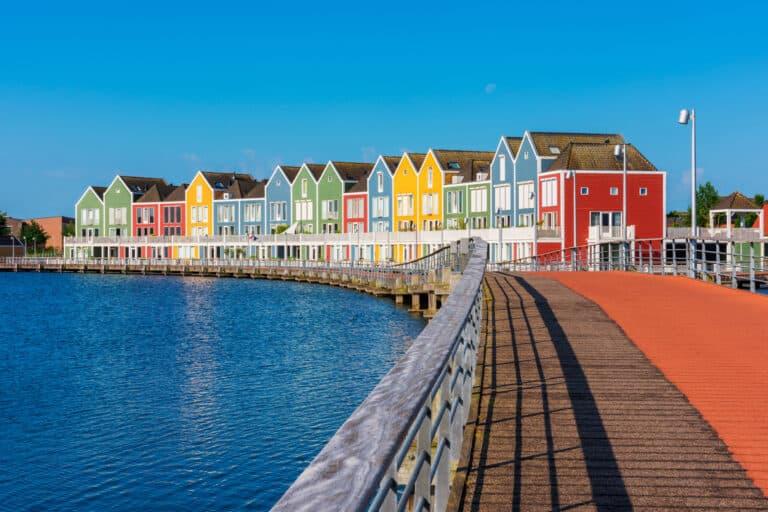 Zu sehen ist die niederländische Stadt Houten