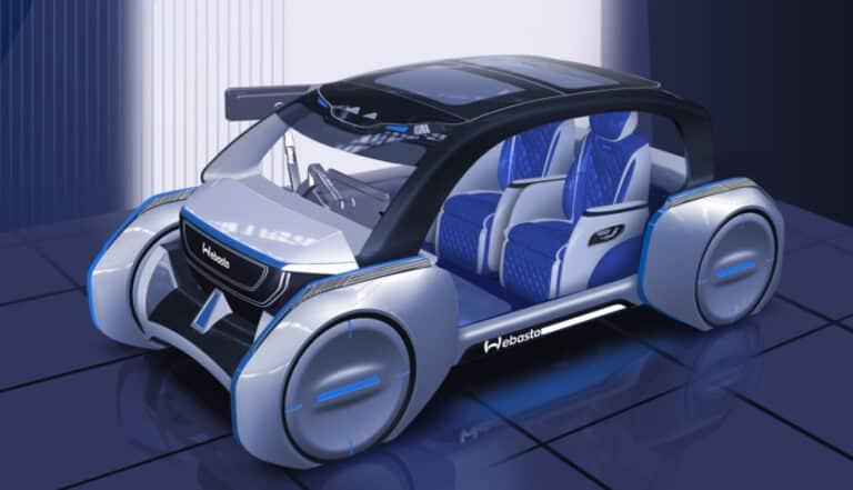 Zu sehen ist das Konzeptfahrzeug der Firma Webasto