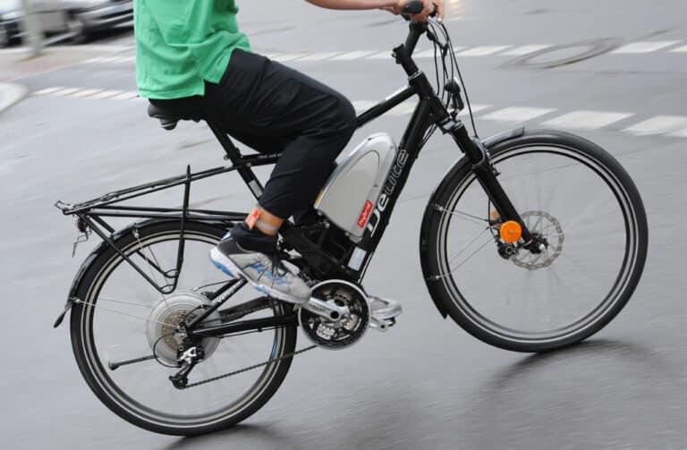 Zu sehen ist ein E-Bike